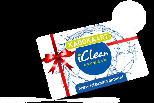 Cadeaubon iClean Deventer